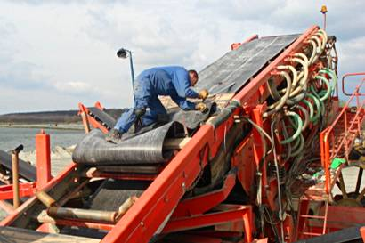 ремонт ленточных транспортеров